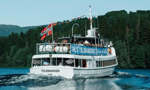 MS Telemarken på Norsjø
