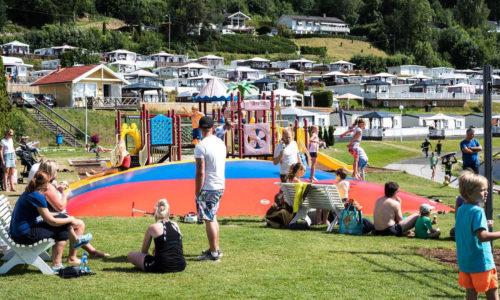 Lekeplassen på Norsjø Ferieland